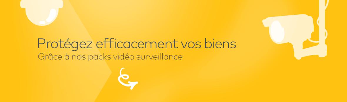Solutions de vidéo surveillance, caméras IP